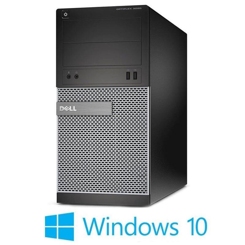 Calculator Dell OptiPlex 3020 MT, Intel i3-4150, 240GB SSD NOU, Windows 10 Home
