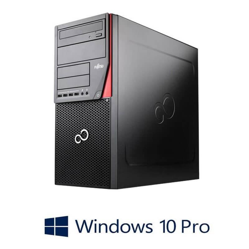 Calculator Fujitsu ESPRIMO P720, i3-4350, 240GB SSD, Radeon HD 7350, Win 10 Pro