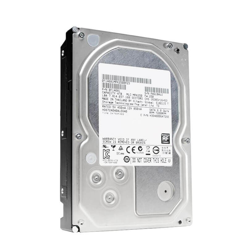 HDD HGST Deskstar HDS724040ALE640, 4TB SATA3 6Gb/s, 7.2K RPM, 64Mb Cache