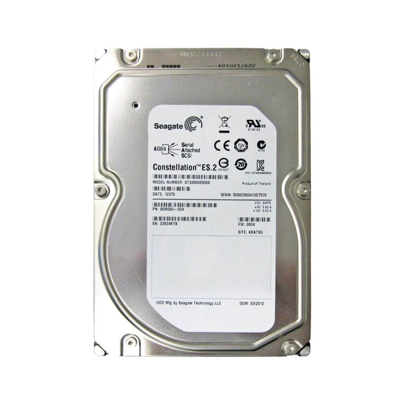 HDD Seagate ST33000650SS 3TB SAS 6Gbps 3.5 inci, 7.2K RPM, 64 MB Cache