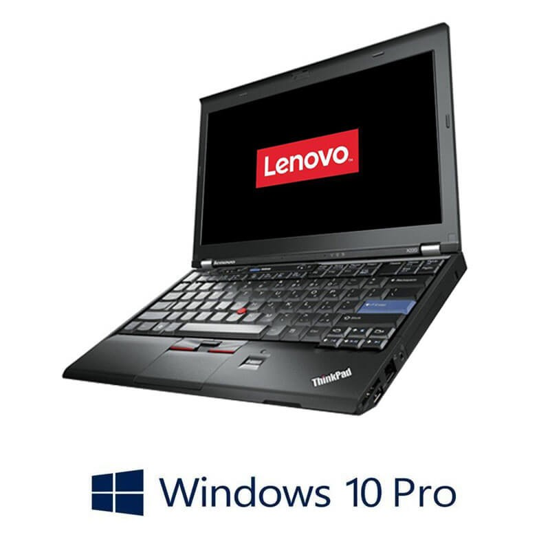 Laptop Lenovo ThinkPad X220, Intel i5-2450M, Webcam, Win 10 Pro