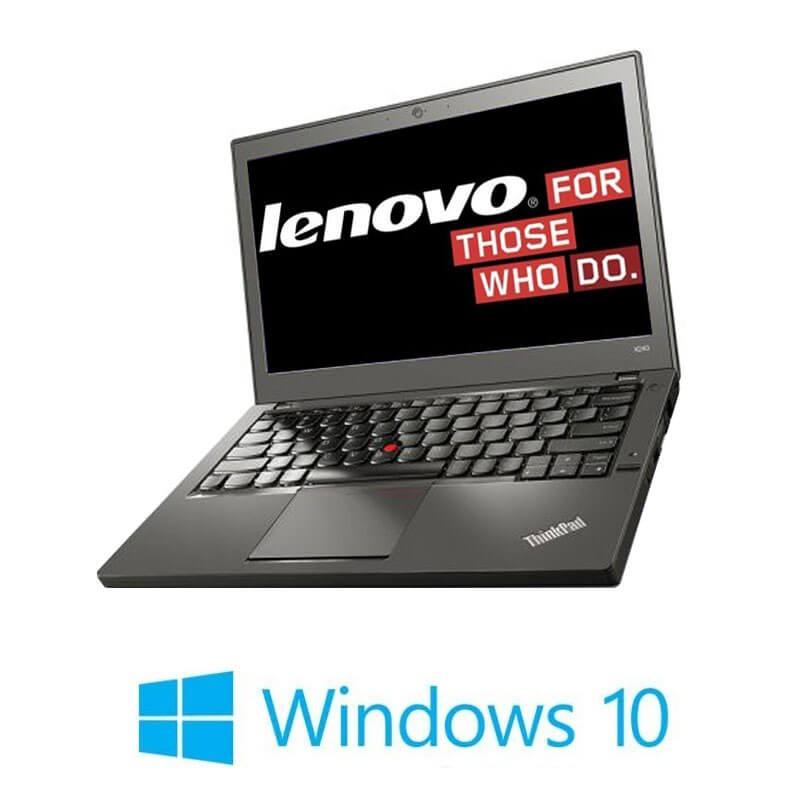 Laptop Lenovo ThinkPad X260, i5-6200U, DDR4, Webcam, Win 10 Home