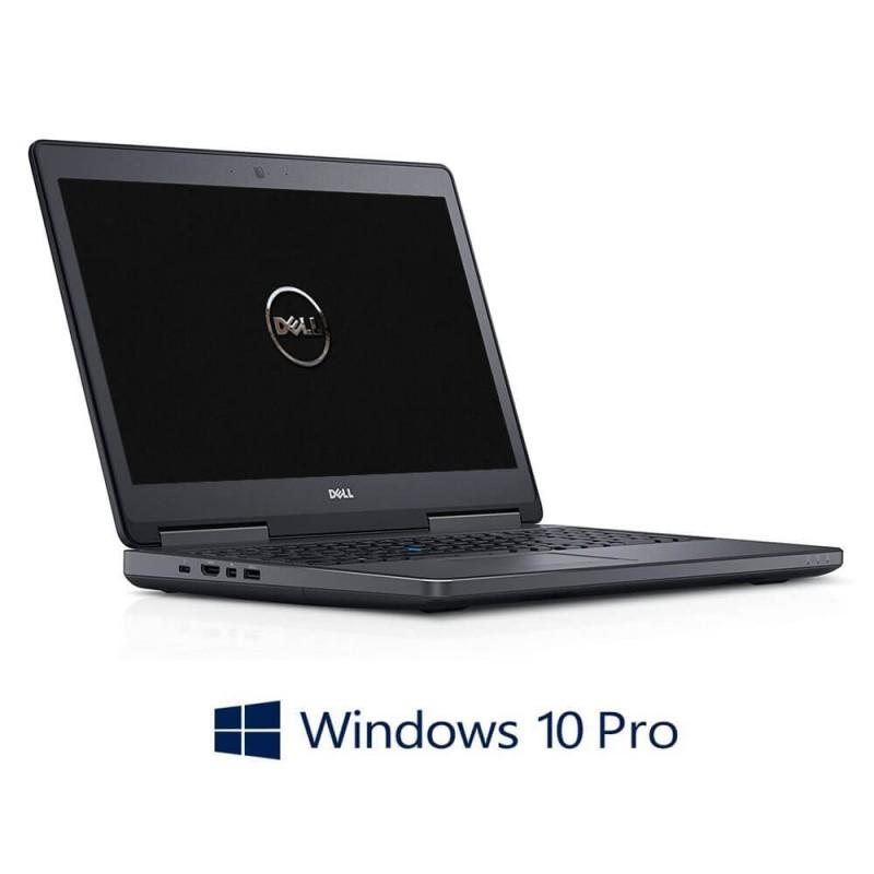 Laptopuri Dell Precision 7510, i7-6820HQ, 16GB RAM, 512GB SSD, Quadro M1000M, Win 10 Pro