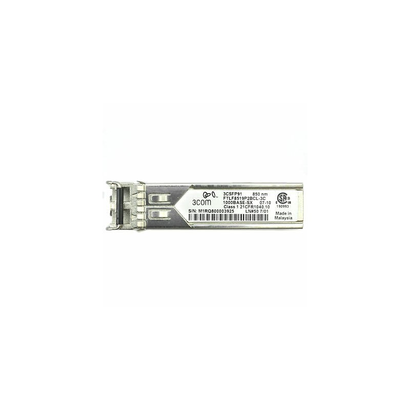 Mini GBIC Transceiver Refurbished 3COM FTLF8519P2BNL-3C 1000Base-SX SFP