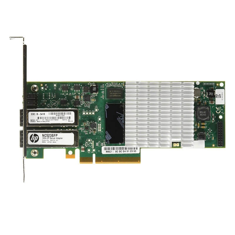 Placi de Retea HP QLE3242 Fibre Channel Dual Port 10Gbps