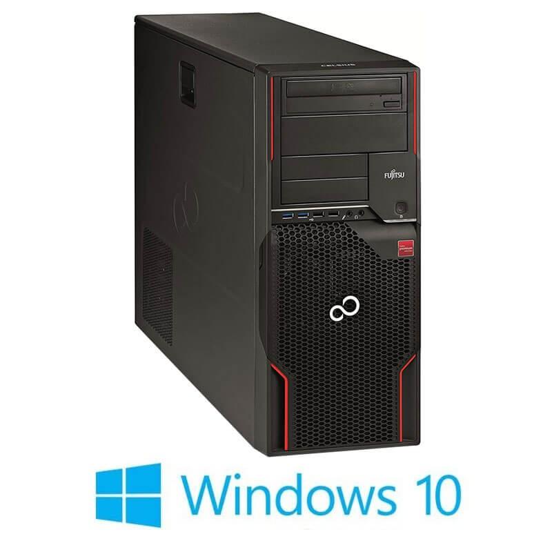 Statie grafica Fujitsu CELSIUS W520, E3-1230 v2, Quadro NVS 450, Win 10 Home