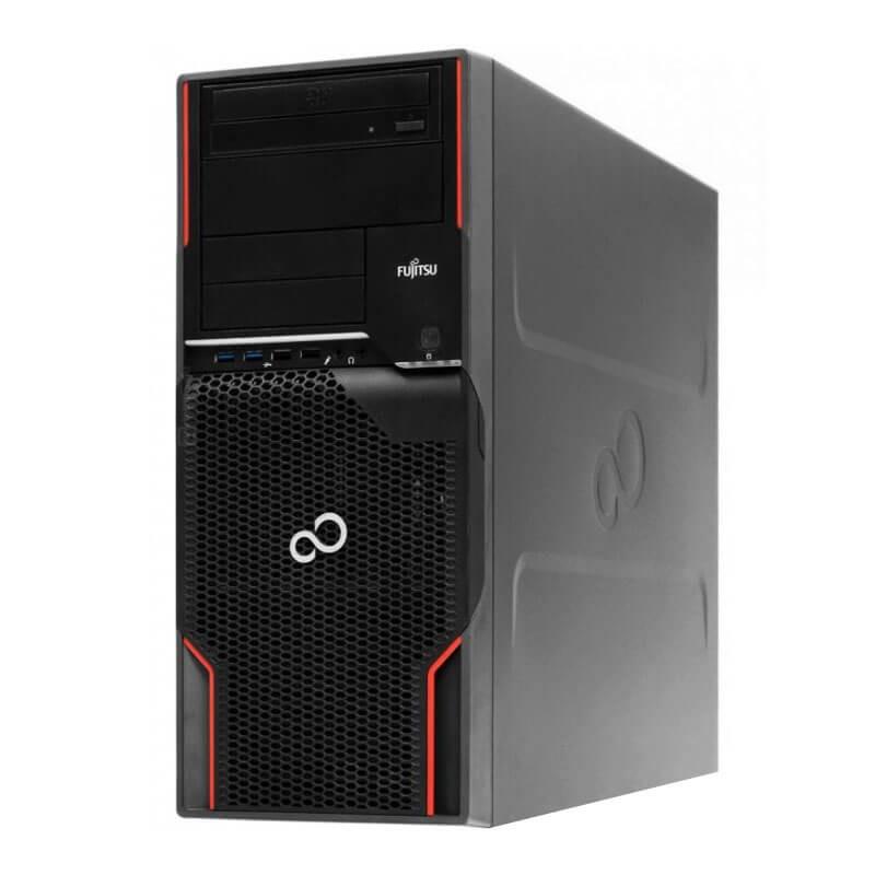 Statie grafica second hand Fujitsu CELSIUS W520, Xeon E3-1230 v2, GeForce GT 240 1GB 128-bit