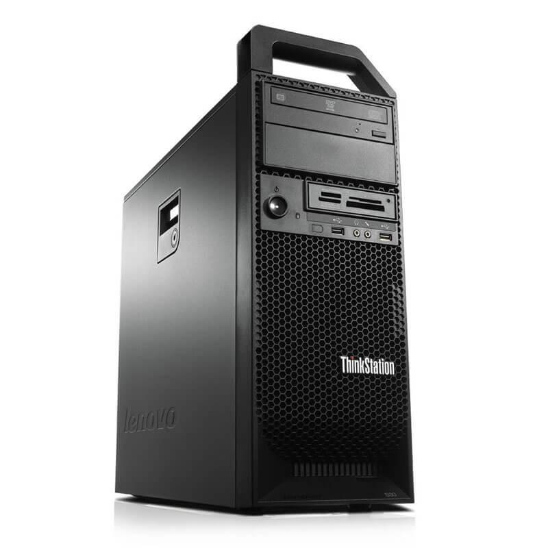 Statie grafica SH Lenovo ThinkStation S30, Xeon E5-1620 v2, GeForce 605 DP